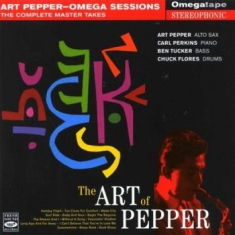 Art Pepper - Omega Sessions: The Complete Master