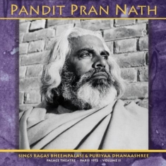 Nath Pandit Pran - Raga Cycle, Paris 1972 Vol.2