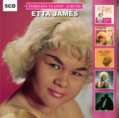 Etta James - Timeless Classic Albums (5Cd-Box)