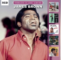Brown James - Timeless Classic Albums (5Cd-Box)