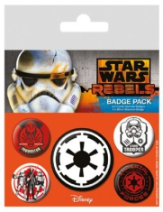 Badge Pack Pin - Star Wars Rebels (Villains) Badge Pack Pin