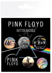 Pink Floyd - Pink Floyd Mix Badge Pack Pin