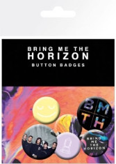 Bring Me The Horizon - Bring Me The Horizon Umbrella Badge Pack Pin