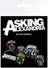 Asking Alexandria - Asking Alexandria Badge Pack Pin