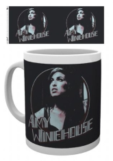Amy Winehouse - Amy Winehouse Mug Retro Badge
