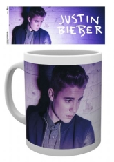Justin Bieber - Justin Bieber Mug Purple Light