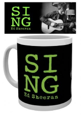 Ed Sheeran - Ed Sheeran Mug Close Up