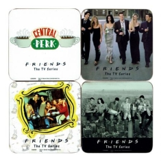 Coaster Set Drink Mats - Friends 4 Coaster Set 4