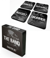 Coaster Set Drink Mats - The Band 4 Coaster Set