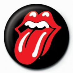 Rolling Stones - Rolling Stones Button Badge Pin 25 mm (Lips)