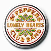 The beatles - The Beatles Badge Pack Pin 25 mm (Sgt Peppers Logo)
