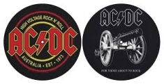 AC/DC - For Those about to rock / High Voltage SLIPMATS