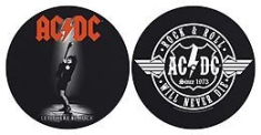 AC/DC - Let There be rock / Rock and Roll SLIPMATS i gruppen Julspecial19 hos Bengans Skivbutik AB (2996107)