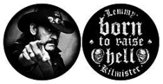 Lemmy - Born To Raise Hell SLIPMATS i gruppen ÖVRIGT / Merch Slipmats hos Bengans Skivbutik AB (2996113)