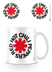 Red Hot Chili Peppers - Red Hot Chili Peppers Mug (Logo White)