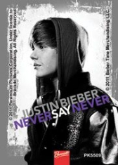 Justin Bieber - Justin Bieber Acrylic Keychain (Never Say Never)