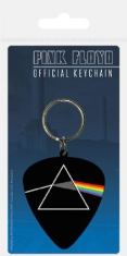 Pink Floyd - Pink Floyd Plectrum Rubber Keychain (Darkside Of The Moon)