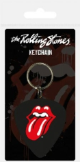 Rolling Stones - Rolling Stones Rubber Keychain (Plectrum)