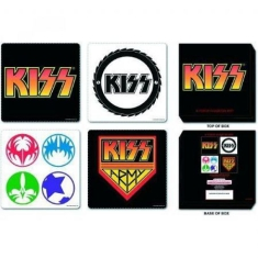Kiss - Coaster 4 set