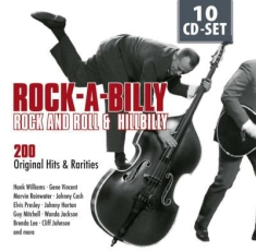 Blandade Artister - Rock-A-Billy Rock'n Hillibilly