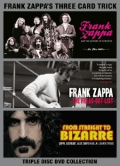 Frank Zappa - Three Card Trick (3 Dvd) Documentar