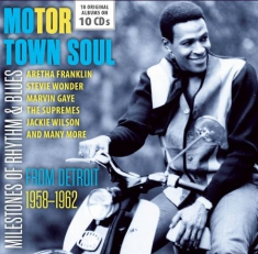 Motor Town Soul - Milestones Of Rhythm & Blues
