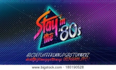 Blandade Artister - Stay In The 80S