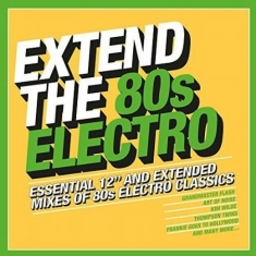 Blandade Artister - Extend The 80S - Electro