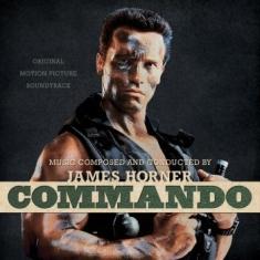 Horner James - Commando (Splatter Vinyl)