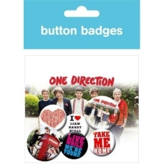 One Direction - Button Badges (6st)