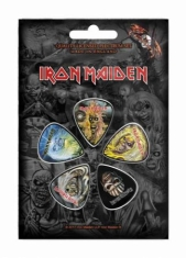 Iron Maiden - Iron Maiden The Faces Of Eddie Plectrum Set