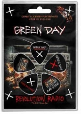 Green Day - Green Day - Revolution Radio Plectrum (Pack of 5)