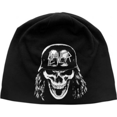 Slayer - Beanie Hat: Wehrmacht (Discharge Print)