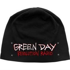 Green Day - Beanie Hat: Revolution Radio (Discharge Print)