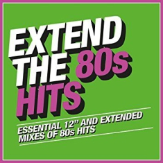 Blandade Artister - Extend The 80S - Hits