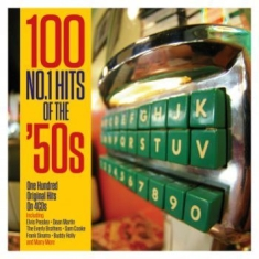 Blandade Artister - 100 No 1 Hits Of The 50\s