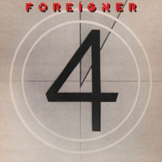 Foreigner - 4 (Red, Colored Vinyl, Indie Exclusive)
