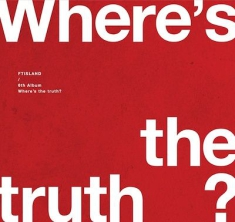 Ftisland - Where's the Truth? (Truth Version) CD+Book
