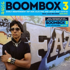 Blandade Artister - Boombox 3:Early Indie Hiphop, Elect