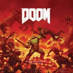 Mick Gordon - Doom (Game Soundtrack) (Colored Vinyl, Red, 180 Gram Vinyl)
