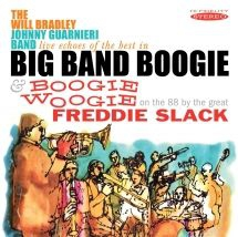 Bradley Will & Freddie Slack - Live Echoes Of The Best In Big Band i gruppen CD / Jazz/Blues hos Bengans Skivbutik AB (3225216)
