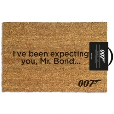 James Bond - Door Mat 007 Ive been expecting you
