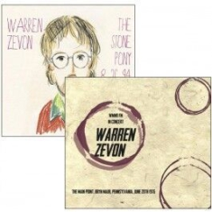 Warren Zevon - Live Broadcasts:1976 & 1994