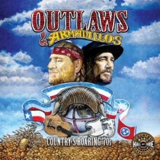 Blandade Artister - Outlaws & Armadillos: Country's Roa