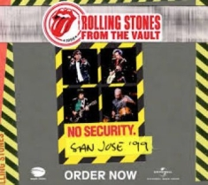 Rolling Stones - From The Vault: No Security (2Cd+Dv