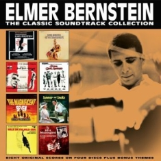 Elmer Bernstein - Classic Soundtrack Collection (4 Cd