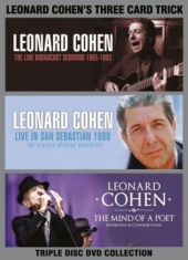 Cohen Leonard - Three Card Trick (3 Dvd) Documentar