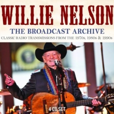 Nelson Willie - Archives The (4 Cd) Live Broadcast