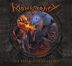 Monstrosity - The Passage Of Existence (Black Vin