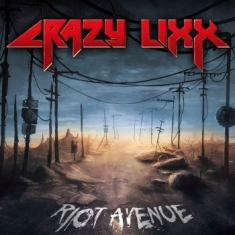 Crazy Lixx - Riot Avenue (Blue Vinyl)